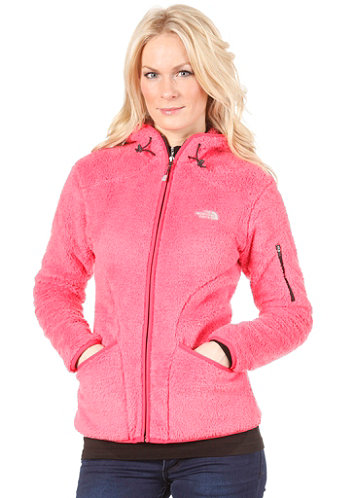 Womens Cervinja Hooded Zip Sweat teaberry pink