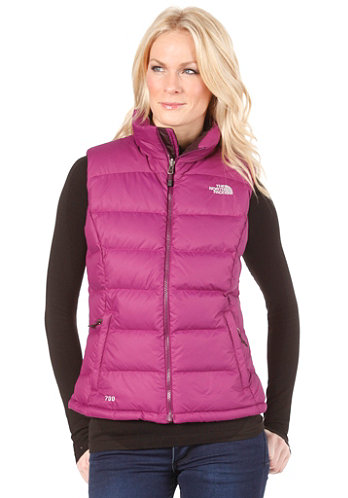 Womens Nuptse 2 Vest premiere purple