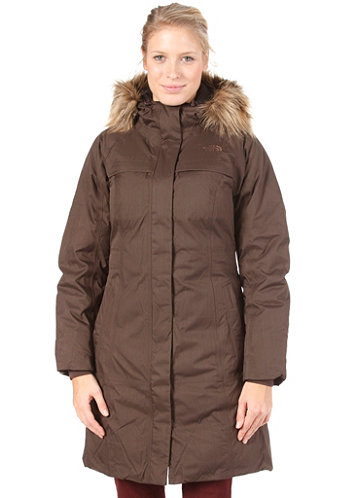 Womens Arctic Parka Jacket 2011 bittersweet brown