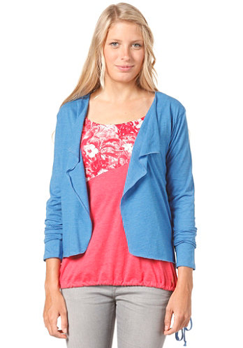 Womens Shorty Jacket blue mel.