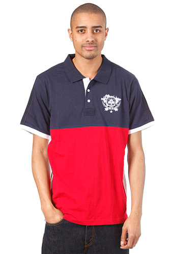 Unite Nations S/S Polo Shirt navy