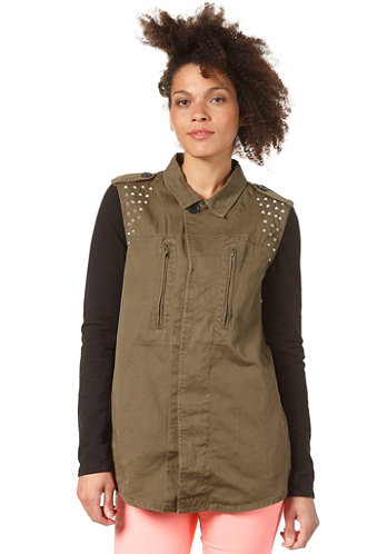 Womens Ardell Jacket ivy green