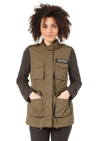Womens Landon Jacket ivy green