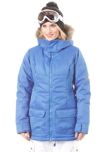Womens Fixture Jacket true blue