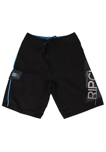 Kids Vantage Shock 18 Boardshort black