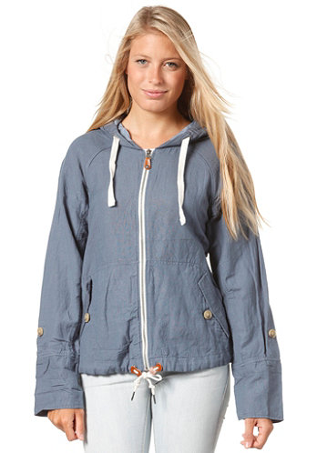Womens Breezy Jacket china blue