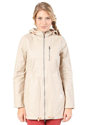 Womens Glide Jacket peyote beige