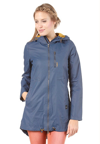Womens Glide Jacket dusty blue