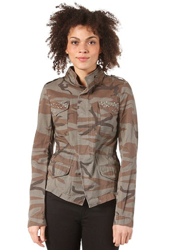Womens Armly Jacket ivy green