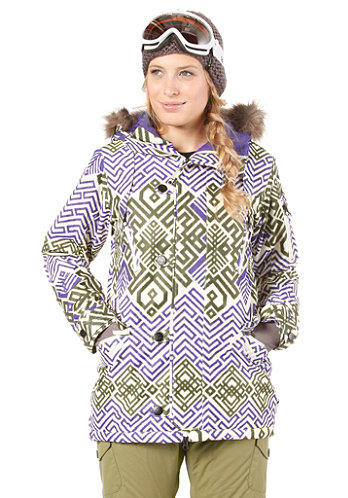 Womens GMP Eleanor Jacket ikat print