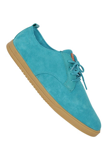 Ellington Shoe aqua suede
