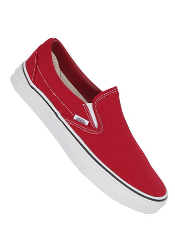 Classic Slip-On canvas chili