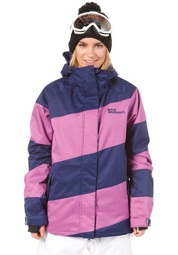 Womens Lady Racer Jacket navy