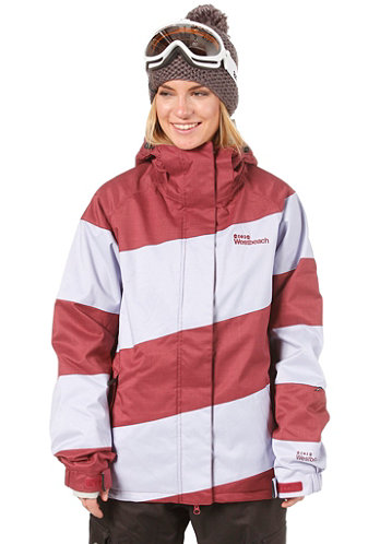 Womens Lady Racer Jacket merlot