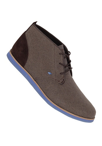 Dalston BL Washed Canvas dark brown