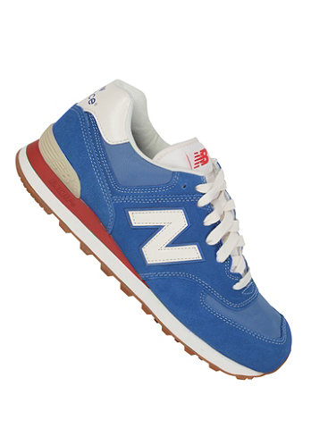 574 Shoe blue/ red