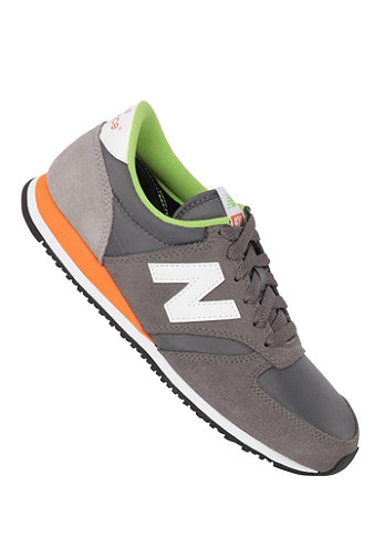 420 Shoe grey/ orange/ green
