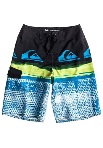 Kids Repeater Youth Boardshort cyan