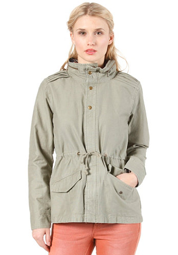 Womens Clarita Jacket military green