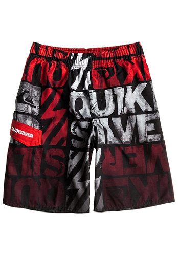 Kids Dipped Youth Jams Short quik red