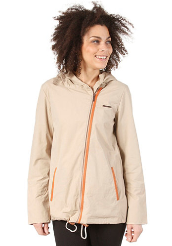 Womens Pad Jacket sand