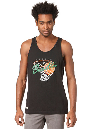 Always Beastin Loose Tank Top black boston green