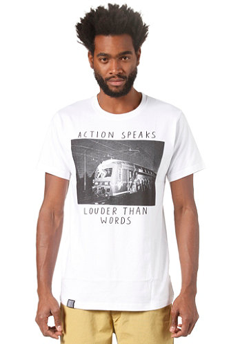 Action S S T Shirt white