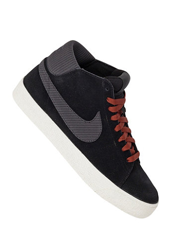 Blazer Mid LR black/anthracite-field brown