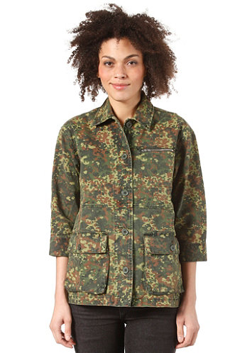 Womens Harvey Jacket CAMO