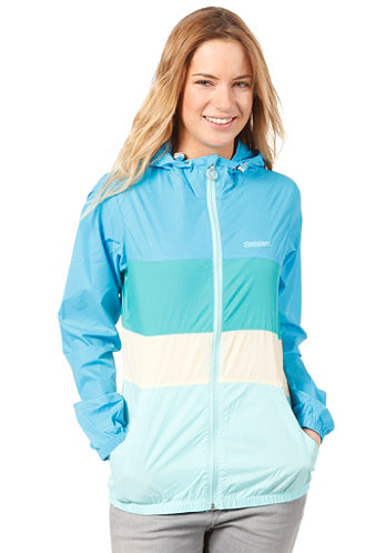 Womens Curve Jacket blue