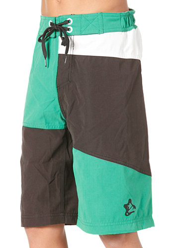 Kids Clipper Boardshort green
