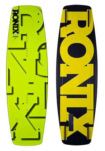 Phoenix Project S Wakeboard 142cm cat scratch yellow flake