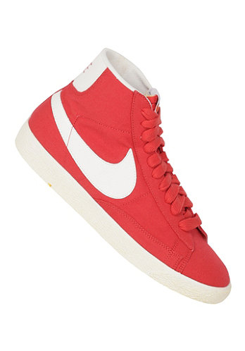 Blazer Mid Premium Vintage Canvas red reef/sail