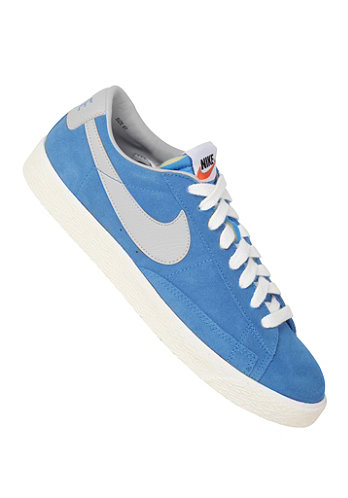 Blazer Low Premium Vintage Suede photo blue/strata grey-sail
