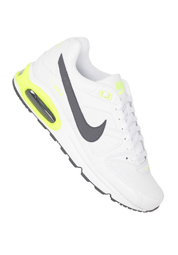 Air Max Command Leather white/dark grey-dark grey-volt