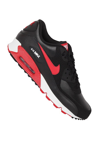 Air Max 90 Essential black/sport red-white