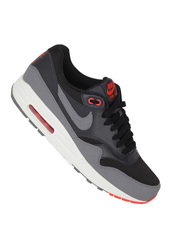 Air Max 1 Essential black/cl grey-anthrct-tm orng