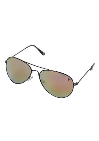 Womens Hangar Sunglasses black/fire