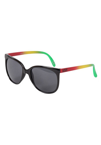 Womens 80�s Sunglasses black/rasta