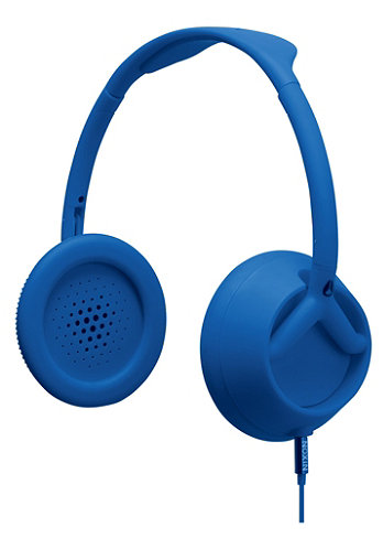 Trooper 3 Button Headphones 2011 matte royal