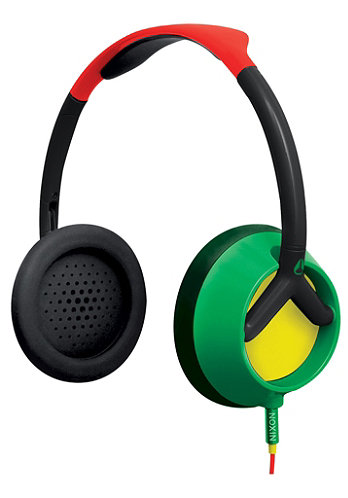 Trooper Headphones rasta