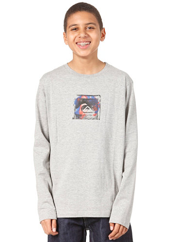 Kids Movement L/S T-Shirt light grey heat