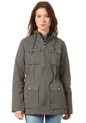 Womens Laane Jacket dark shadow
