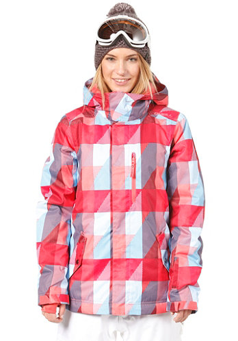 Womens Pwes Cats Eye Jacket red/aop 5