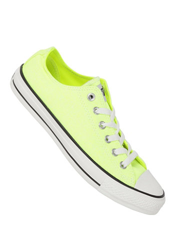 Chuck Taylor All Star B.Washed Ox neon yellow
