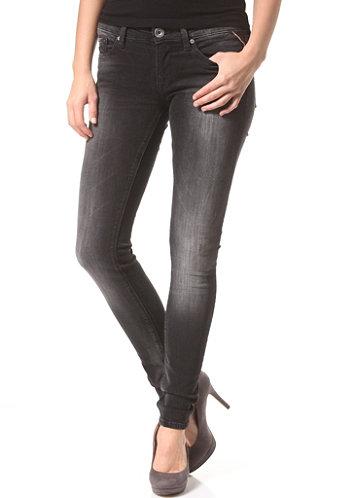 Replay luz jeans voor vrouwen zwart