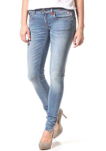 Replay alanaies jeans voor vrouwen blauw