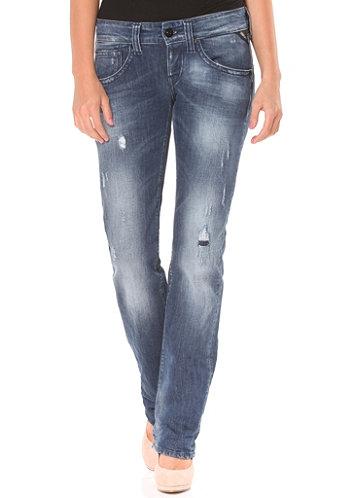 Replay newswenfani jeans voor vrouwen blauw