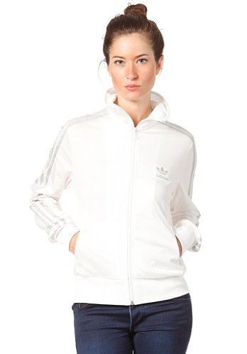 ADICOLOR/ Womens Logo Firebird Tracktop Jacket running white/met