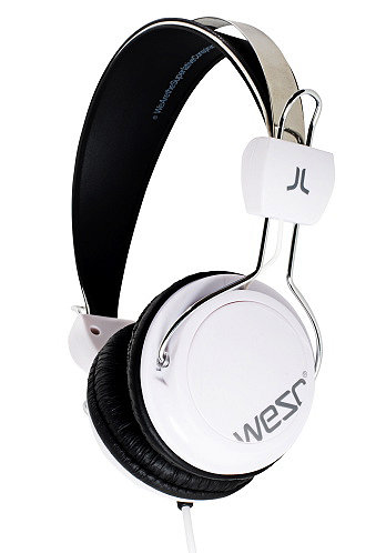 Bongo Hands Free Headphones white/grey
